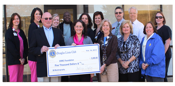 Coffee Regional Medical Center Foundation Donation